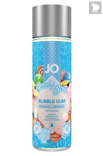 Смазка на водной основе Candy Shop Bubblegum с ароматом жвачки - 60 мл. - System JO