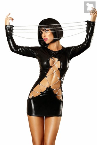 Платье Lolitta Dash, цвет черный, размер S-M - Lolitta