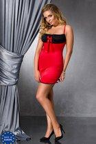 Сорочка Lena, цвет красный/черный, 6XL-7XL - Passion