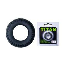 Эреционное кольцо в форме автомобильной шины Titan - Baile