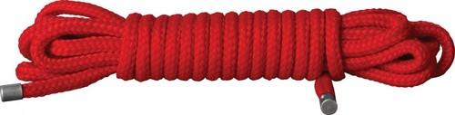 Красная веревка для связывания Japanese Rope - 5 м., цвет красный - Shots Media