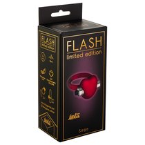 Эрекционное кольцо Flash Infinity 9001-01Lola, цвет красный - Lola Toys