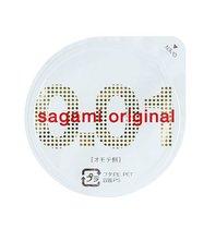 Супертонкий презерватив Sagami Original 0.01 - 1 шт. - Sagami