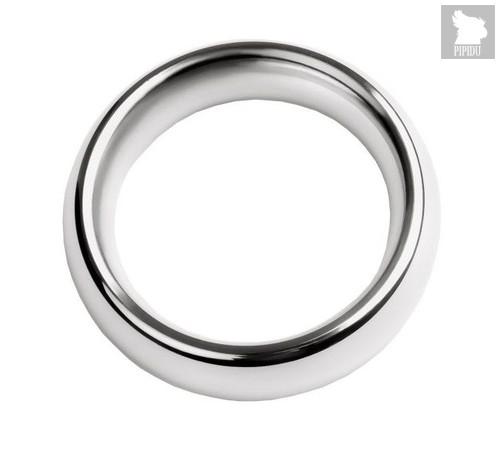 Металлическое эрекционное кольцо размера S, цвет серебряный - Toyfa