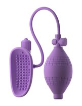 Сиреневая вакуумная вибропомпа для вагины Sensual Pump-Her, цвет сиреневый - Pipedream