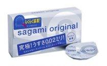 Ультратонкие презервативы Sagami Original QUICK - 6 шт. - Sagami