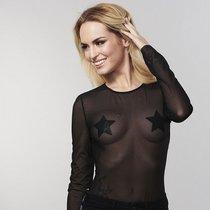 Bijoux Украшение на грудь Flash Star черное, цвет черный - Bijoux Indiscrets