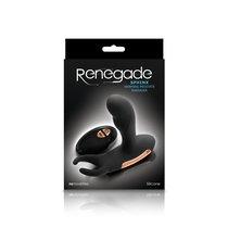 Массажер простаты с вибрацией и функцией нагрева Renegade - Sphinx - Warming Prostate, цвет черный - NS Novelties