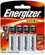 Батарейки Energizer MAX E91/AA 1,5V - 4 шт. - Energizer