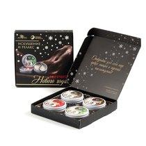 Подарочный набор из 4 свечей для массажа - BioMed-Nutrition