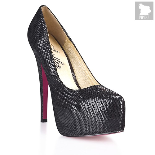 Туфли Black Salamander, цвет черный, 39 - Hustler Shoes