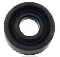 Черная гладкая насадка на помпу размера L, цвет черный - Bioritm