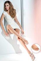 Тонкие колготки Velia с открытыми пальчиками, цвет телесный, 2 - Gabriella