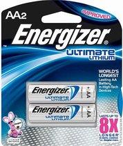 Батарейки Energizer Ultimate Lithium FR6/L91 AA - 2 шт. - Energizer