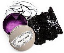 Кружевные манжеты Desiderio, цвет черный, S-M - Dolce piccante lingerie
