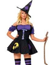 """Костюм """"Ночная ведьмочка"""", цвет сиреневый, S-M - Le Frivole"""