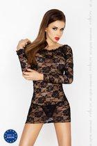 Сорочка Yolanda, цвет черный, L-XL - Passion