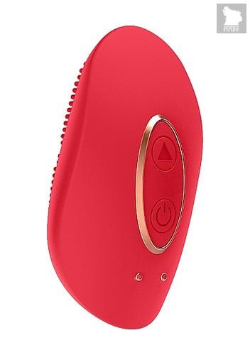 Клиторальный стимулятор Mini Rechargeable Clitoral Stimulator Precious Red SH-ELE010RED - Shots Media