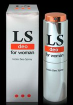 Интим-дезодорант для женщин Lovespray DEO - 18 мл - Bioritm