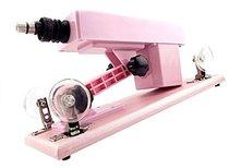 Розовая секс-машина Machine Gun, цвет розовый - lovemachines