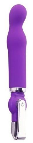Фиолетовый вибратор ALICE 20-Function G-Spot Vibe - 18 см., цвет фиолетовый - Howells
