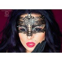 Черная маска 3807 MYSTERIOUS CHILI MASK, цвет черный - Chilirose