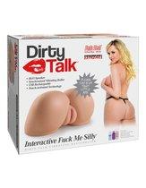 Мастурбатор полуторс Pipedream Extreme Toyz Dirty Talk, цвет телесный - Pipedream