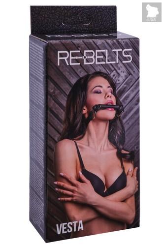 Кляп-трензель Vesta Black 7744-01rebelts, цвет черный - Rebelts
