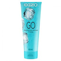 Пролонгирующий лубрикант на водной основе Egzo Go - 50 мл - Egzo