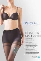 Утягивающие колготки Comfort Matt 20 den, цвет черный, 2 - Gabriella