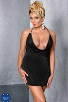 Мини-платье Miracle + стринги, цвет черный, 4XL-5XL - Passion