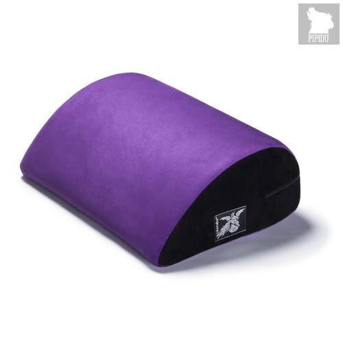 Liberator Retail Jaz Motion Подушка для любви малая, фиолетовая замша - Liberator