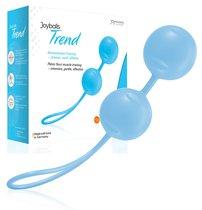Вагинальные шарики Joyballs Trend, цвет голубой - Joy Division