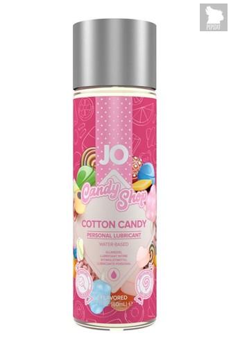 Смазка на водной основе Candy Shop Cotton Candy с ароматом сладкой ваты - 60 мл. - System JO