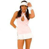 """Игровой костюм """"Очаровательная теннисистка"""", цвет розовый, M-L - Hustler Lingerie"""