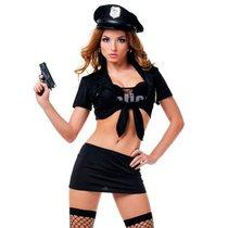 """Костюм """"Капитан полиции"""", цвет черный, S-M - Le Frivole"""