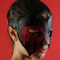Очки-маска Вампир, цвет красный/черный - Подиум
