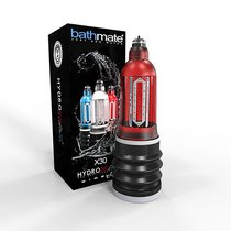 Красная гидропомпа Hydromax X30 Wide Boy, цвет красный - Bathmate