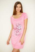 "туника ""E5099-1"" розовый, цвет розовый, XS - Trikozza"