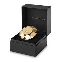 Клиторальный вибратор Twenty One в форме бриллианта, цвет золотой - Bijoux Indiscrets