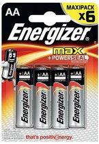 Батарейки Energizer MAX E91/AA 1,5V - 6 шт. - Energizer