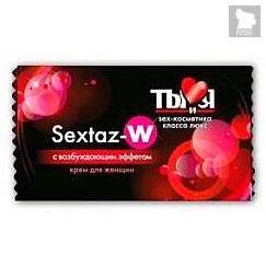 Крем возбуждающий Sextaz-W, 1,5 г - Bioritm