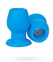 Анальная втулка большая с большим отверстием, цвет голубой - Erasexa