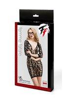 Ажурное эротическое платье с рукавами 3/4 - Femme Fatale