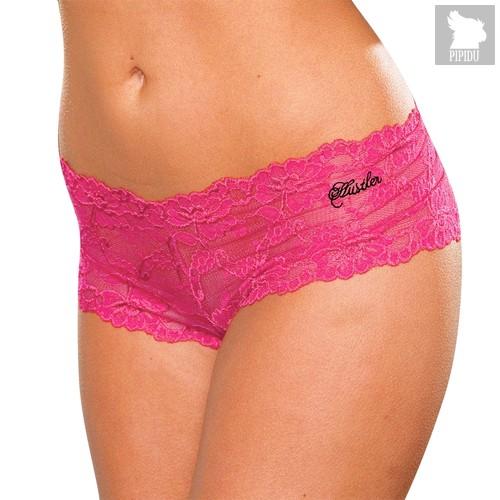 Трусики-шортики Mona, цвет розовый, M-L - Hustler Lingerie