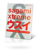 Презервативы SAGAMI Xtreme ультратонкие, 1 шт. - Sagami