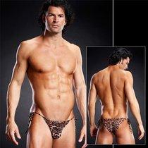 Мужские Side-tie бикини, цвет коричневый, размер S-M - Blue Line