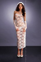 Платье Branca White, цвет белый, L-XL - Me Seduce