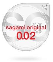 Презервативы Sagami №2 Original ультратонкие полиутретановые, 1 шт. - Sagami