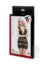 Сетчатое платье с корсетной шнуровкой - Femme Fatale